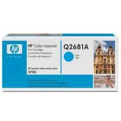 Картридж HP Q2681A cyan для HP Color LaserJet 3700 (6K)