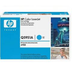 Картридж HP Q5951A (643A) cyan для HP Color LaserJet 4700, 4730 (10K)