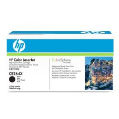 Картридж HP CE264X (646X) black для HP Color LaserJet CM4540 (17K)