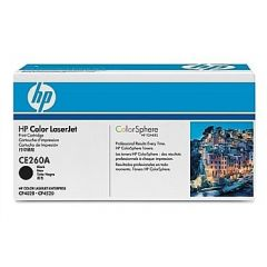 Картридж HP CE260A (647A) black для HP Color LaserJet CP4025/CP4520/CM4540 (8,5K)