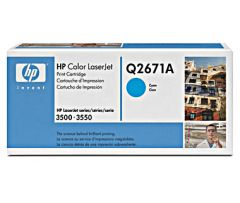 Картридж HP Q2671A (309A) cyan для HP Color LaserJet 3500, 3550 (4K)
