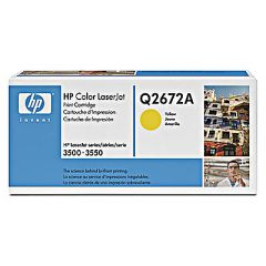 Картридж HP Q2672A (309A) yellow для HP Color LaserJet 3500, 3550 (4K)